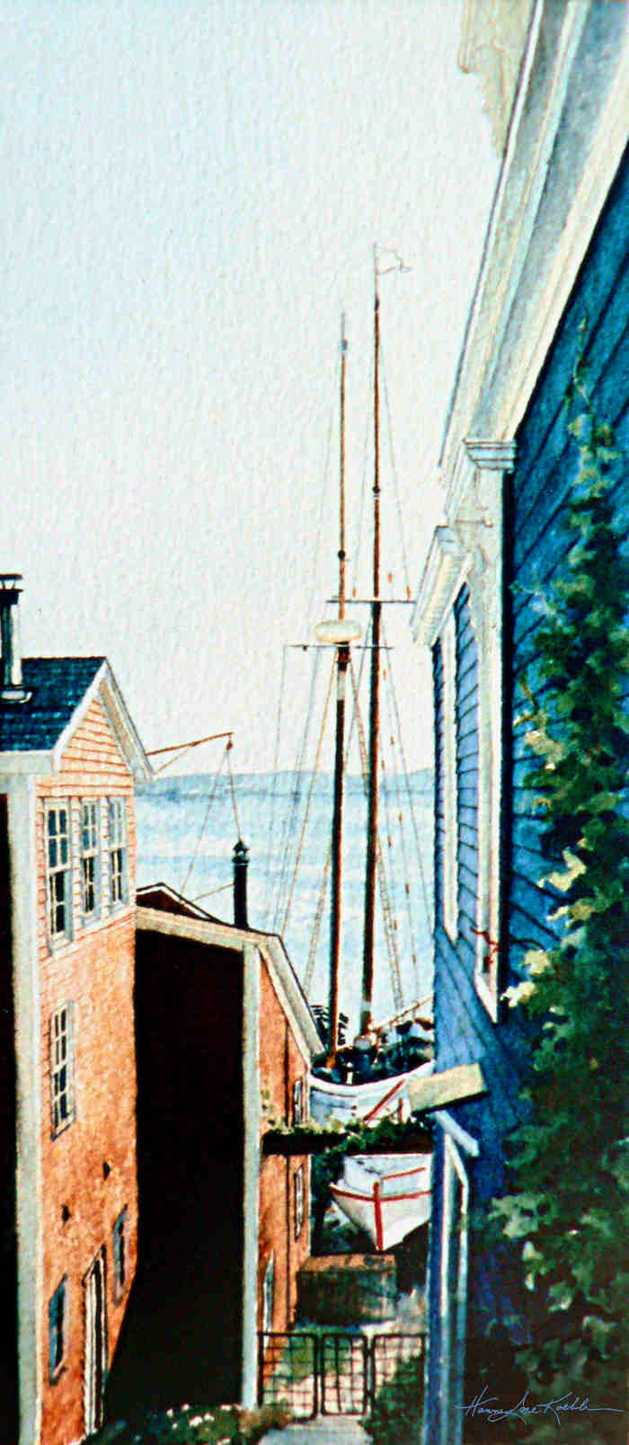 bluenose 2 painting
