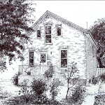 commission a pen and ink drawing of your house