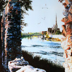 painting of Cambridge