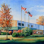 painting of Cambridge Farmers Market