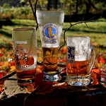 oktoberfest beer glasses still life art photography