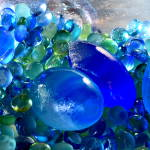 photographic art prints of art glass