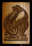 rooster cookie baking mold carving canvas art prints