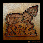 cookie baking mold kitchen art prints of horse