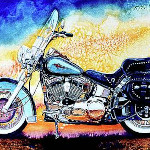 Hog Wild Motorcycle Art