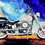 Boss Hog Motorcycle Art