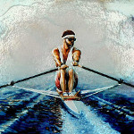 scull rower