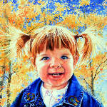 child watercolor portrait