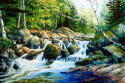 Spring Landscape Paintings