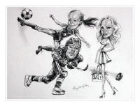 Pencil Caricatures